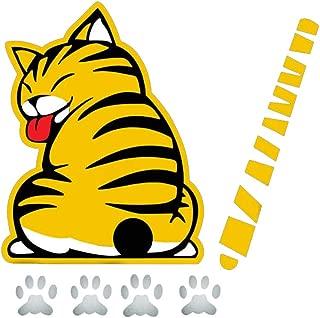 Best rear window wiper cat decal Reviews