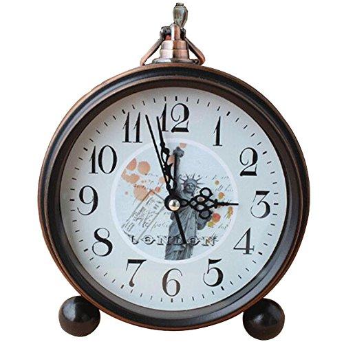 Despertador Retro Europeo Reloj Despertador Mejor Relojes -Tatua de la Libertad