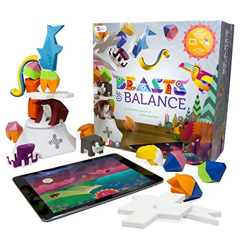 Beasts of Balance - A Digital Tabletop Hybrid Family Stacking Game For Ages 7+ (BOB-COR-WW-1/GEN)