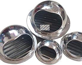 29mm Armoire 4pcs Cabinet Mesh Trou Dair Vent Louver Ventilation Couverture En Acier Inoxydable Dia 19mm Color : Convex 19mm 25mm 53mm 35mm