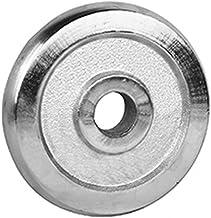 Training Dumbbell Stukje gealvaniseerde of stalen fitnessapparatuur Dumbell Gym apparatuur (Color : 2.5kg)