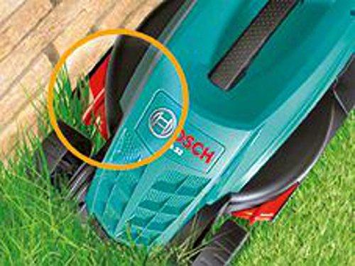 Tondeuse à gazon filaire Bosch - ARM 32 (Ø 32cm, 1200W, hauteur de Coupe: 20-60mm, bac 31L)