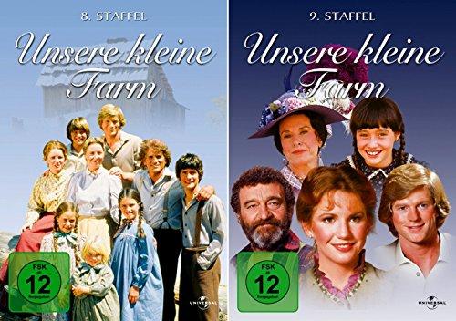 Unsere kleine Farm - Die komplette 8. + 9. Staffel (12-Disc / 2-Boxen)