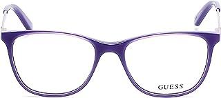 GUEX5 GU2392 53C93 Brille GU2392 53C93 Oval Brillengestelle 53 Schwarz