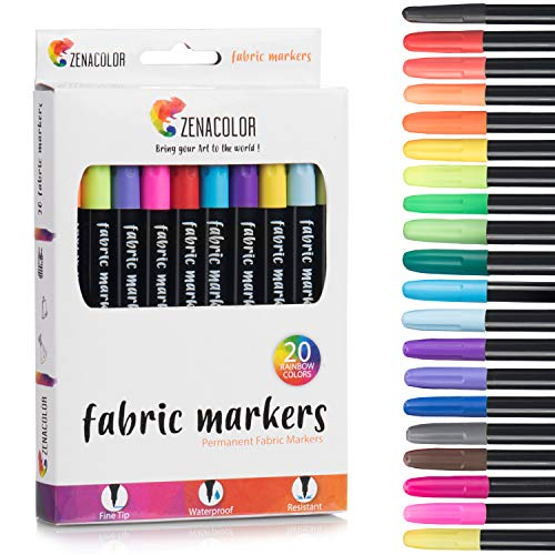 51IRoUNPjDL - Best Pens to Write on Fabric 2020 [Top 2 Products]