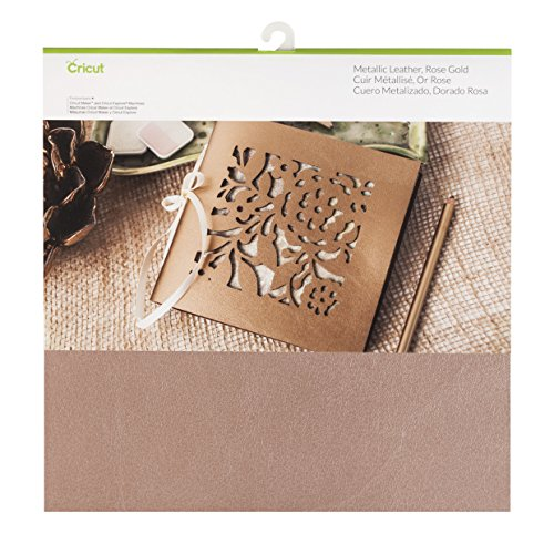 Cricut Leather Decor, 12X12, Rose Gold