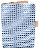 Porta Libretto Sanitario Blu - Formato A5 15x20 cm - Alette per conservare le prescrizioni