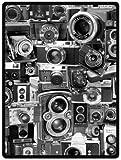 vintage cameras Super Soft Plush Queen Size Blanket 58' x 80' (Large)