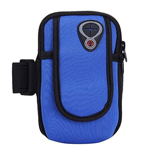 Kinhevao Sport Accessoires Generic Sport Gym Fitness Bras Sac Housse for téléphone clé for Les Amateurs de Sport (Color : Deep Blue, Size : M)