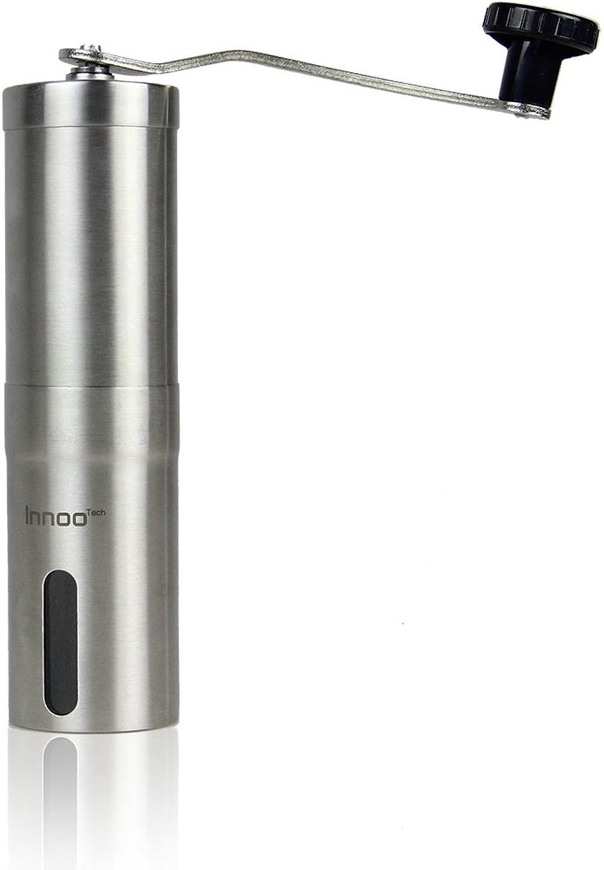 Innoo Tech H1788-V01 Grinder-V01 Coffee Grinder, 1.9 x 1.9 x 7.5 inches, Silver
