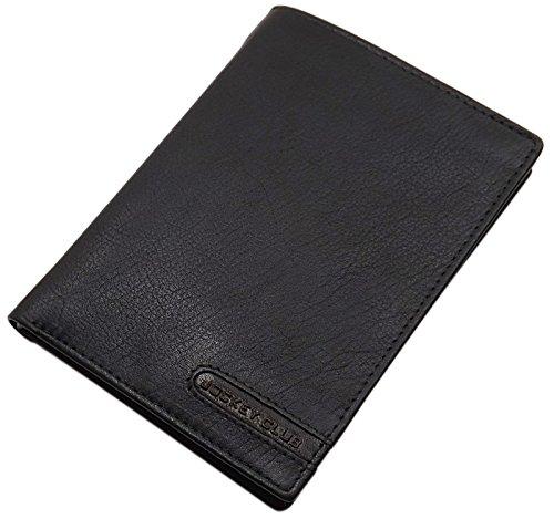 Vacchetta Custodie per passaporto/Porta carte d'identità e carte di credito in nero