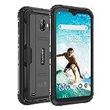 Blackview BV5900 SIMフリースマートフォン本体 (2020)、IP68防水/防塵/耐衝撃 4G Android 9.0デュアルSIMミリタリー携帯電話HD + 5.7インチ、3GB + 32GB 13MP + 5MPデュアルカメラ 5580mAh 水中カメラモード AU対応不可 技適認証済み NFC