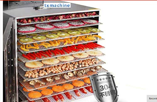 Great Price! T.X.Food Dehydrator Machine, Electric Multi-Tier Food Preserver, Meat or Beef Jerky Mak...