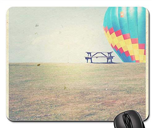 Mouse Pad - Polaroid Polaroid Print Handmade Paper Bank Balloon