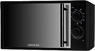 Cecotec Micro-ondes avec Grill All Black avec Gril. Capacité de 20 L, 700 W de Puissance, gril de 900 W, 9 Niveaux de Fonc...