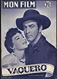 Mon film n° 417. Vaquero. Robert Taylor et Ava Gardner en couverture. Fernandel et...