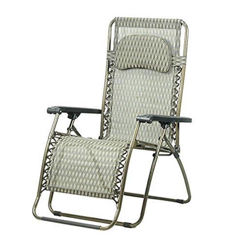 FEIFEI Fauteuils inclinables Chaise pliante Lunch Break Chaise longue Chaise de bureau Chaise de plage Pliant