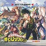 My Hero Academia 2022 Calendar: 16-month Mini Calendar 2022 with large grid for planners! Small Calendar 7x7