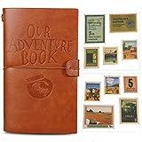 """Cuaderno de cuero """"Our Adventure Book"""",rellenable,Bloc de notas,diario de viaje"""