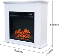 Calentador eléctrico de fuego LED Llama independiente Repisa de chimenea de ladrillo suite envolvente con control ajustable del termostato de seguridad y salida del sistema de aire más cálido