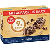 15-Count Fiber One Oats and Chocolate Chewy Bars