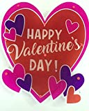 Lighted Valentine's Heart Window Decoration