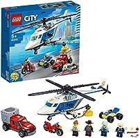 Lego 60243 60243 Pościg Helikopterem Policyjnym ,Wielokolorowy