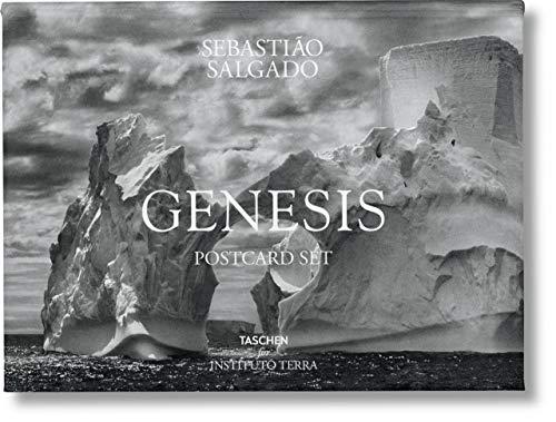 Sebastião Salgado. GENESIS. Postcard Set (Multilingual, French and German Edition)