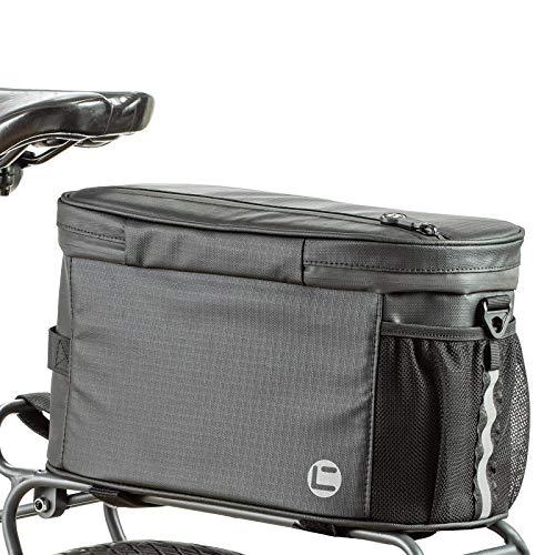 UBORSE Bolsa alforja para Bicicleta Bolsa portabicicletas con Aislamiento Impermeable Bolsa de Maletero para Asiento Trasero para Bicicleta MTB de Carretera de montaña