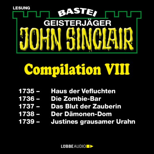 John Sinclair Compilation VIII audiobook cover art