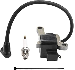 Ignition Coil with Spark Plug for Lawn Boy Mower 99-2916 684048 684049 92-1152 99-2911 Toro Gold & Silver Series Parts Kit