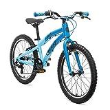 ollo Bicicleta Infantil de 20 Pulgadas a Partir de 6 años Bikes, para niños y niñas, Ligera, Cambio de Marchas – Azul