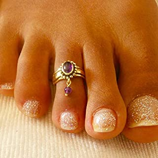 Toe Ring -Brass Toe Ring - Adjusable Toe Ring - Foot Accessories - Foot Ring - Foot Jewelry - Band Toe Ring - Gifts Under 20
