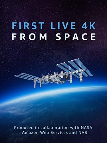 Erster 4K-Live-Stream aus dem Weltraum