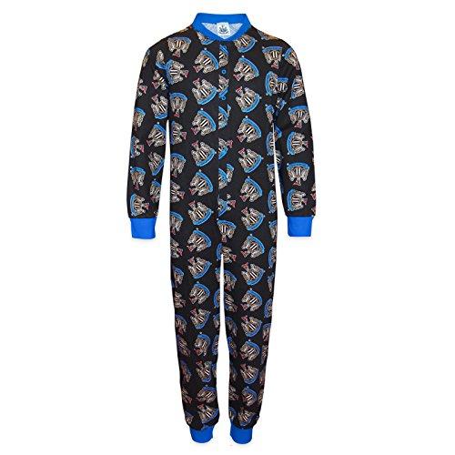 Newcastle United FC - Pijama de una pieza para nios - Producto oficial - 11-12 aos