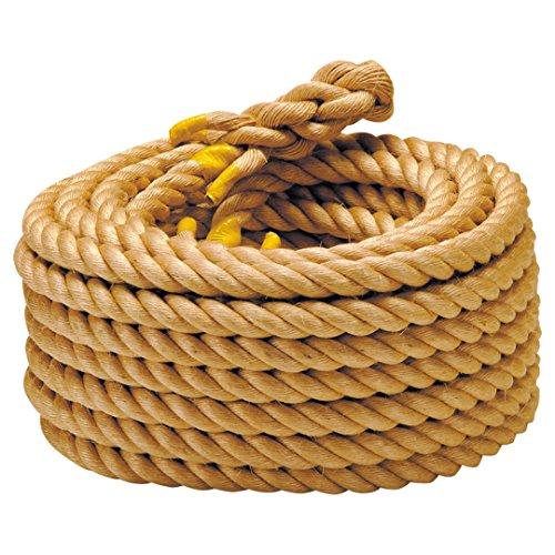 エバニュー 綱引きゲーム用ロープ麻36mm EKA418