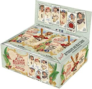 2019 Topps Allen and Ginter Baseball Factory Sealed 24 Pack Retail Box - Fanatics Authentic Certified