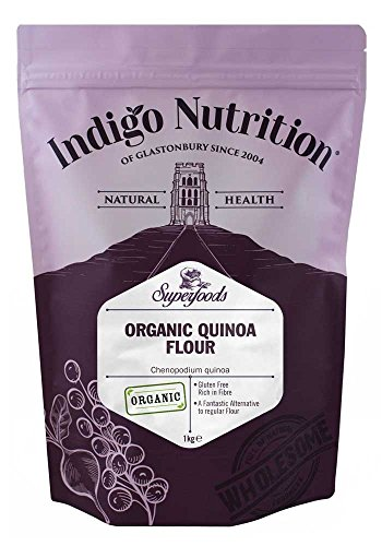 Indigo Herbs Harina de Quinoa Orgánica 1kg