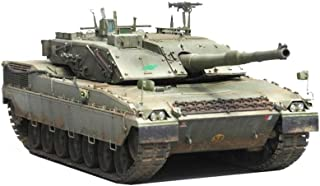 Military Tank Puzzle Model, 1:35 WWII Italy C1 ARIETE MBT Model, Children's Assembly Toys (11.1Inch 3.9Inch 3.9Inch)