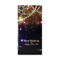 XperiaXZ SOV34 ハードケース スマコレ スマホケース オリジナルスマートフォンケース ハンドメイド 携帯ケース【print】 きらきら クリスマス pc Xperia XZ エクスペリア XZ ラグジュアリー 005460 Sony ソニー au エーユー sov34-005460-pc