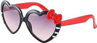 Lovelegis Hello Kitty - Gata - Gafas de sol - Niñas y niñas - Forma de corazón - Primavera - Verano