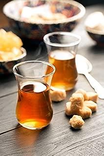 'Topkapi–Vasos de té turco té Cristal