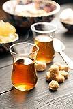 Topkapi Serap - Bicchieri da tè turchi, 110 cc, set da 6