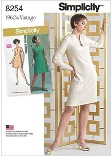 plus size shift dress sewing pattern