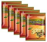 Caramelle allo zenzero Agel con aroma di menta piperita Confezione da 125 g, (5x125g)