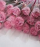 Weiye 38 Stück Seife Rose Nelke Blume – leicht duftende Badseife Rosenblüte...