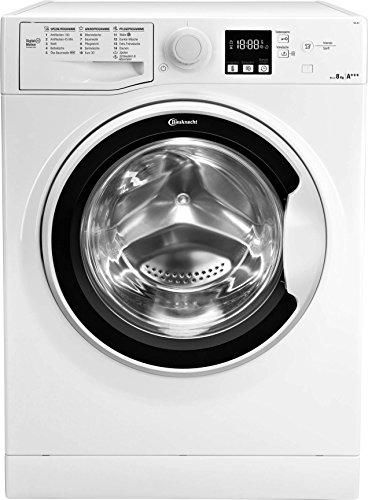 Bauknecht FWL 8F4 Waschmaschine Frontlader / A+++ / 1400 UpM / 8 kg / Weiß / langlebiger Motor /...