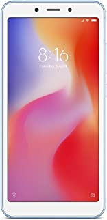 Smartphone Xiaomi Redmi 6A Global Tela 5.45 Camera 13MP Face Unlock (16GB/2GB Azul)