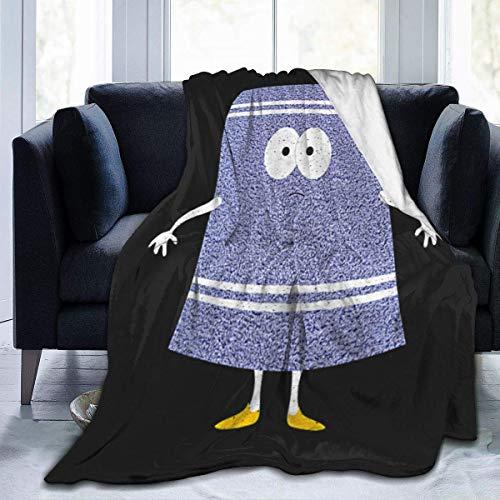 XIANG-XIANG Nein, du bist EIN Handtuch Towelie Charakter South Park Schöne weiche Samt-Kapuzendecke, komfortabel und warm, unverzichtbar für Herbst und Winter