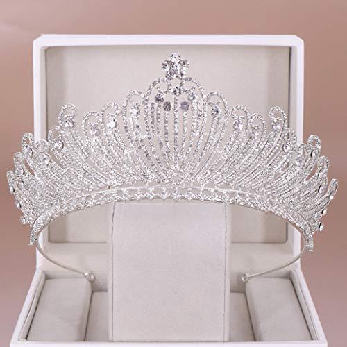 Klassische Braut Diademe, Damen Haarschmuck Krone, Zarten Juwelen Haarbänder, Stirnbänder Für Glänzende Feiern